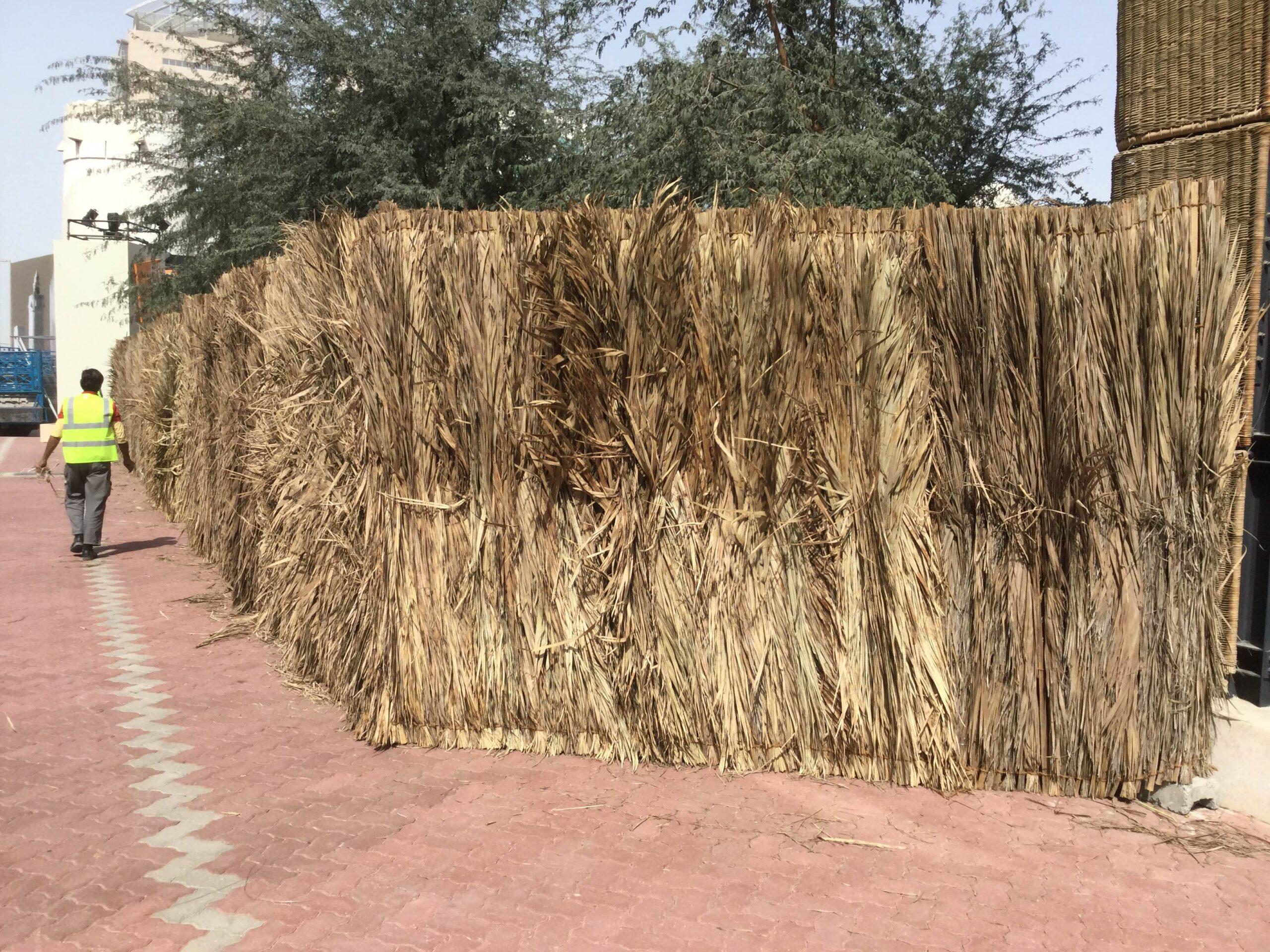 fencing rental-barasti double side