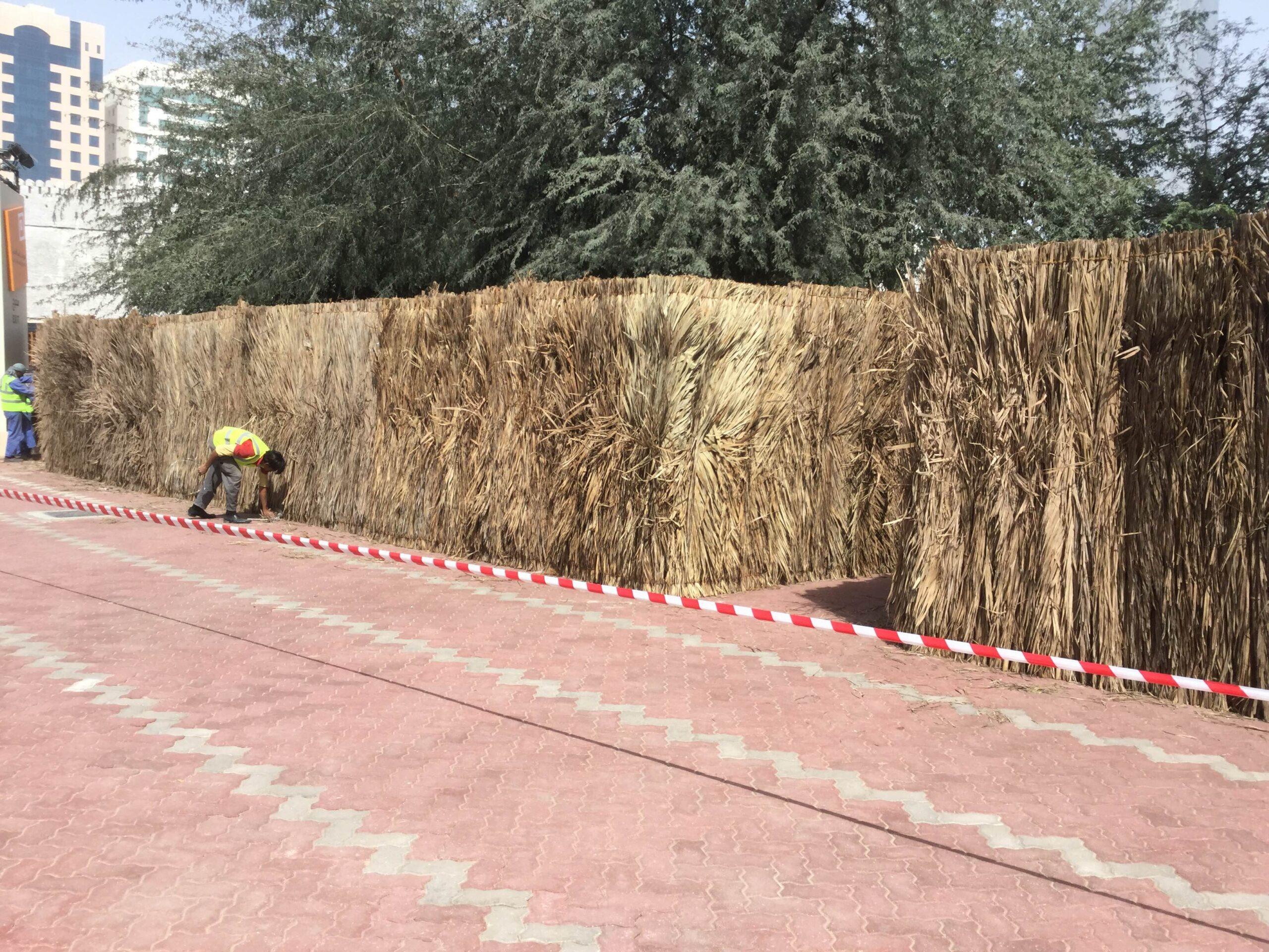 barasti double side fencing