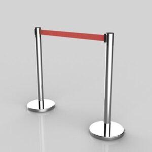 queue poles