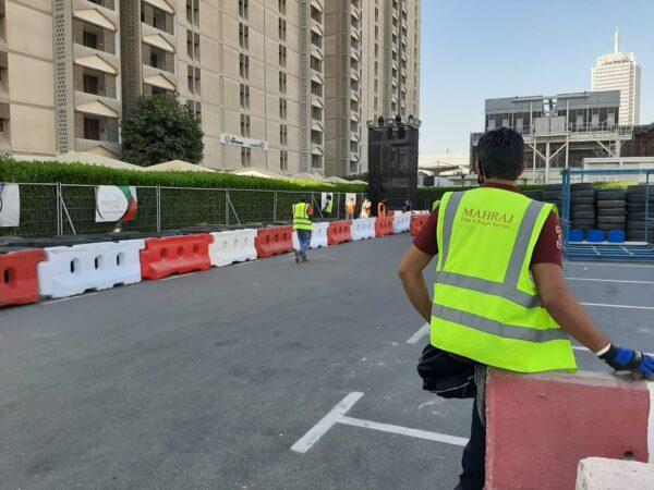 water barrier rental