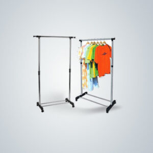 clothes rack trolley